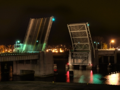 Drawbridge at Midnight (Color)