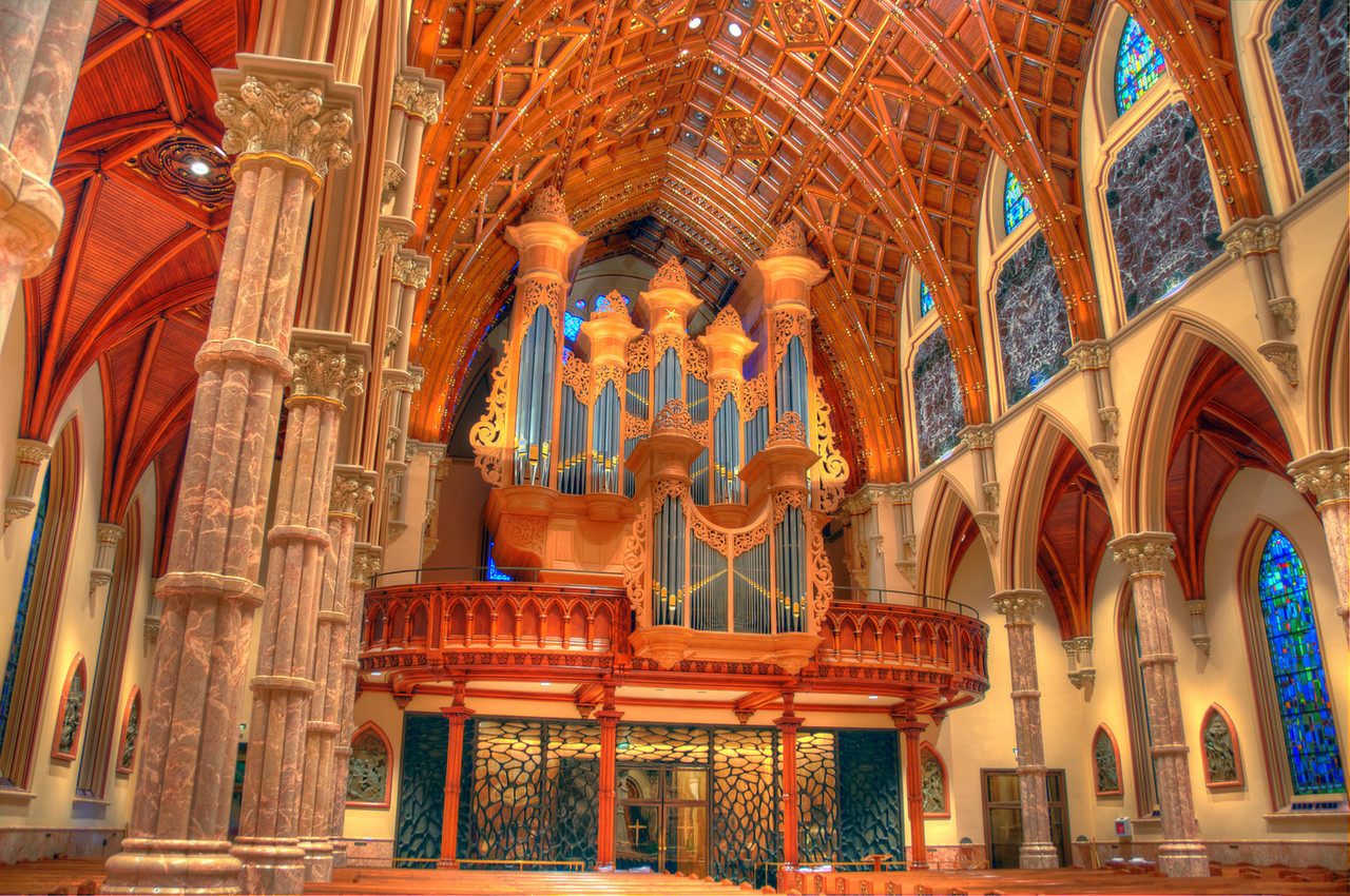 The Organ at Holy Name Cathedral