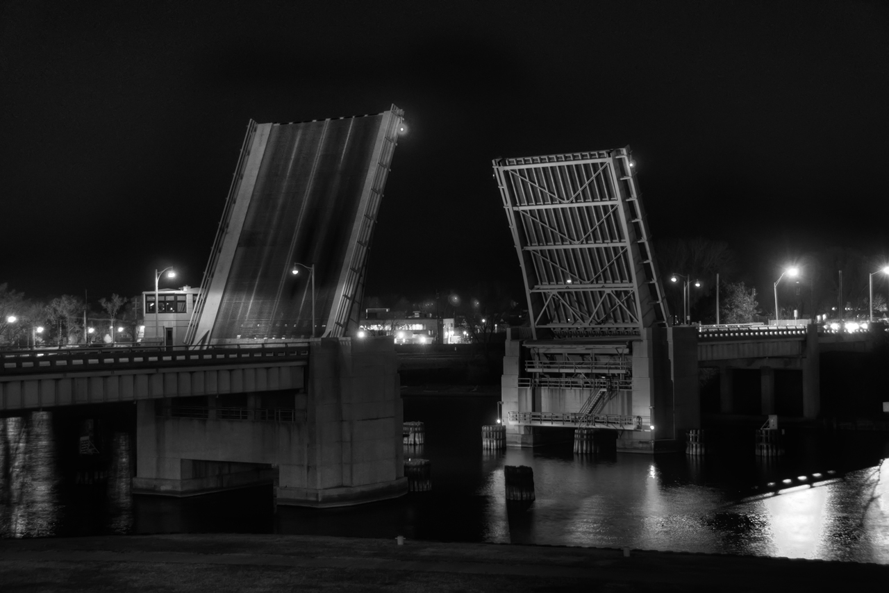 Drawbridge at Midnight